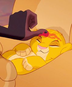 30 Days of Disney Day 3- Favorite Animal Hero: Simba from The Lion King definitely!