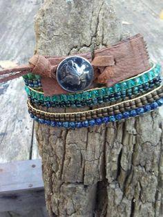 Bohemian bead woven bracelets Southwest beaded bracelet boho