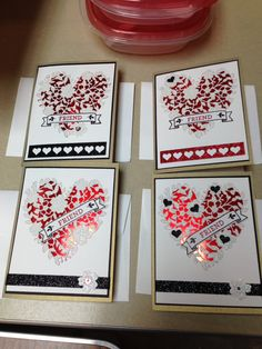 All Stampin Up.
