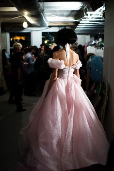Pretty in Pink at Oscar de la Renta.