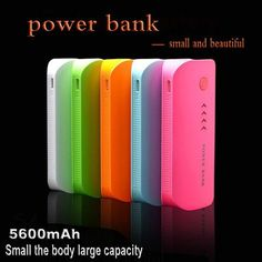 DoSHIN Hot Sale Power Bank Real 5600mah Cute Portable Charger Pocket Rechargeable External Battery Pack WIth Indicator Light - UrbanLifeShop