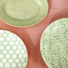 Terrain Diamond Dot Textile Platters #shopterrain