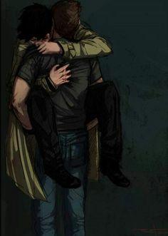Castiel and Dean ||| Supernatural Fan Art