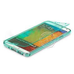 Flip tpu soft silicon lime gel case for Samsung Galaxy S3