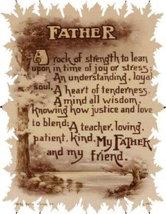 for my father