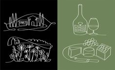 Paul Wearing, Illustration, Line,