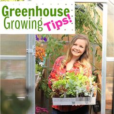 Greenhouse Growing Tips: Problem Solving Common Greenhouse Issues, and Learning How to Trellis Climbing Vegetable in your Greenhouse. Growing Cucumbers and Tomatoes in your Greenhouse.