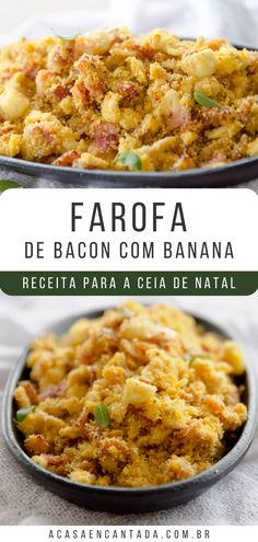 Banana Passa, Carne, Food And Drink, Low Carb, Cooking, Ethnic Recipes, Tasty Food Recipes, Camping Foods, Pasta With Bacon