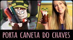 Porta Caneta do Chaves  =DiY