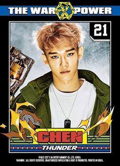 CHEN JONGDAE #KOKOBOP #EXO #EXO_POWER #CHEN #JONGDAE