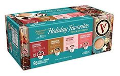 Victor Allen Coffee Holiday Favorites Coffee  Hot Cocoa Mix Single Serve Kcup 96 Count Compatible with 20 Keurig Brewers -- Click on the image for additional details.  This link participates in Amazon Service LLC Associates Program, a program designed to let participant earn advertising fees by advertising and linking to Amazon.com.