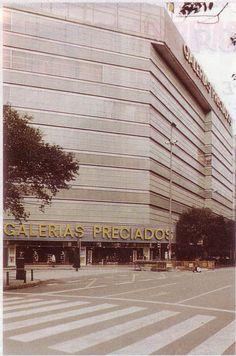 Galerías Preciados. Actualmente El Corte Inglés Colón- Valencia