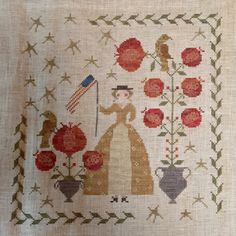 """""""Star and Stripes"""" by With thy Needle and Thread"""