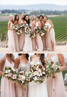 Enjoy this late summer romance winery wedding with its sweeping vineyard views we cannot get enough of.