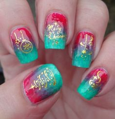 Today we have another photo collection of Great Mismatched Christmas Nail Designs. These nail designs include combinations of several Christmas symbols. New Nail Designs, Winter Nail Designs, Christmas Nail Designs, Christmas Nail Art, Green Christmas, Christmas Patterns, Christmas Design, Christmas Tree, Sparkly Nails