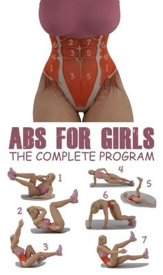 Abs-olutely Amazing Core Exercises for a Flat Stomach – 365 Aims