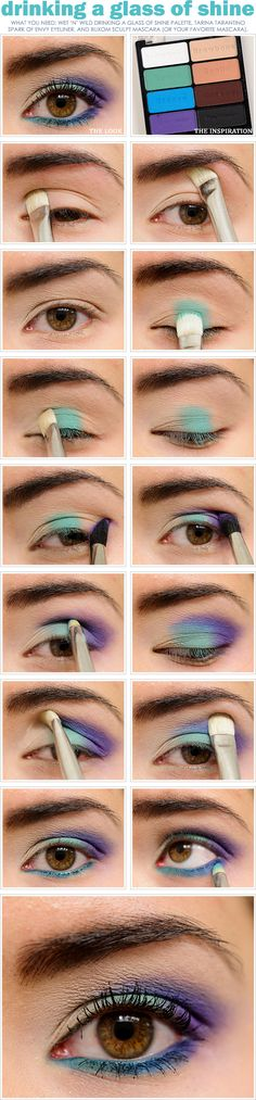 Love this site! Great tutorial! The brightness really helps show the placement of each color. I think you can follow this guide with any color combination you choose!