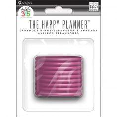 My & My Big Ideas Create 365 Happy Planner Planner Expander Rings Pink