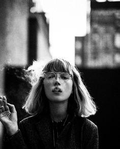 Fashion photographer based in New York City Photography Tattoo, Fine Art Photography, Street Photography, Portrait Photography, Alone Photography, Women Smoking, Girl Smoking, Monochrome, Foto Art