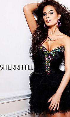 Sherri Hill Short Prom Dress at PromGirl.com