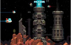 Phaser is a fun, free and fast 2D game framework for making HTML5 games for desktop and mobile web browsers, supporting Canvas and WebGL rendering.