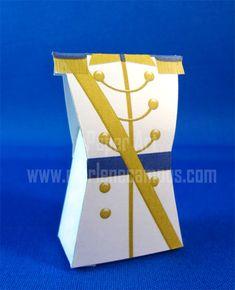 Prince Favor Box White Prince favor box Charming por PaperArtbyMC