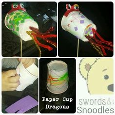 Dragon crafts St Georges Day