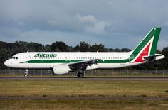 Marvelous Alitalia Aircraft  Airline of Italy Very beautiful!!