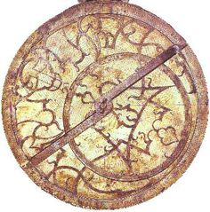 Adelard of Bath astrolabe. He was known for contributing to philosophy, mathematics, geometry, astronomy, astrology and alchemy. Solar Time, Celestial Sphere, Early Explorers, Information Art, Great Inventions, Sun And Stars, Ancient Aliens, Ancient Egypt, Star Sky