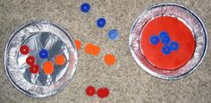 Pie Tin Washer Toss Game... and Game backpack details.  Easy to put together for den meeting or campout (afternoon/free time - play games!)