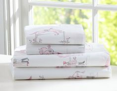 Horse sheets for Maddy @ pottery barn kids