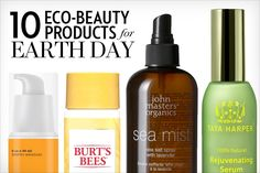 organic makeup eco-friendly beauty Earth Day