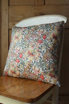 William Morris Golden Lily Minor Arts and Crafts Cushion Cover