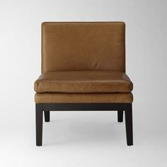 Leather Slipper Chair | West Elm