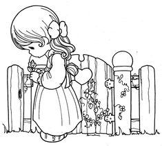 Free printable coloring pages for print and color, Coloring Page to Print , Free Printable Coloring Book Pages for Kid, Printable Coloring worksheet Love Coloring Pages, Free Printable Coloring Pages, Adult Coloring Pages, Coloring Pages For Kids, Coloring Books, Precious Moments Coloring Pages, Digi Stamps, Illustrations, Girls In Love