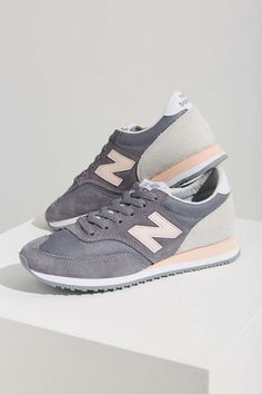 New Balance 620 Capsule Running Sneaker- The brand New Balance is helping trendy women on the go look stylish. We see more and more people wearing running shoes with a cuter outfit instead of just for a workout.