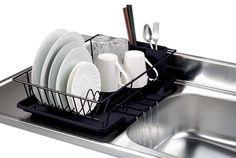 Dish Drying Rack Walmart Yamazaki Usa Inctower Wire Dish Drainer Rack  Kitchen Organizing