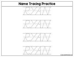 Custom Name Tracing Worksheet - Download   Create Custom Printables & Worksheets Art And Craft Images, Name Tracing Worksheets, Printables, Names, Words, Create, Print Templates, Horse