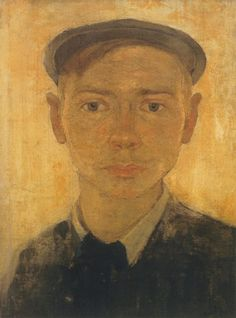 Jan Mankes, Auto Portrait