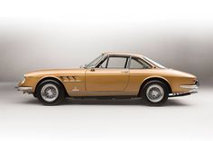 The 1966 Ferrari 330 GTC is a remarkable vehicle designed by the iconic Italian manufacturer Pininfarina. The particular model featured here, in a stunning gold color, will be up for auction at Villa Erba, in May 2017. Photos by Tom Gidden More classic cars via Airows