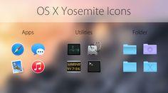 OS X Yosemite Icons by JohanChalibert.deviantart.com on @deviantART Icons, Windows, Deviantart, App, Window, Apps, Ikon, Ramen, Symbols