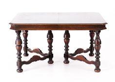 Jacobean Revival Dining Table : EBTH