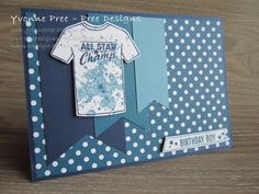 Custom Tee, Gorgeous Grunge, Boy card, Clean and Simple, 2017 Occasions, Stampin' Up!, Yvonne Pree, Pree Designs