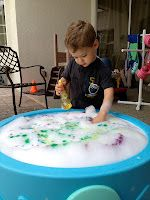 Two Much Fun: Rainbow Bubbles and Glow Sticks