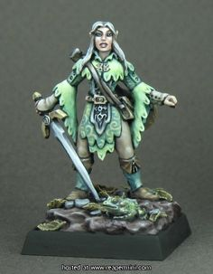 Wide range of Reaper Miniatures at King Games. Heroic Scale Fantasy Miniatures perfect for Tabletop Gaming and RPGs. Warhammer 40k Figures, Warhammer Fantasy, Fantasy Rpg, Daily Fantasy, Reaper Miniatures, Fantasy Miniatures, Dungeons And Dragons Figures, Minis, Fairy Drawings