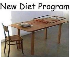 Is this your diet plan???  There is an easier way - check out our 21 Day Challenge!!!