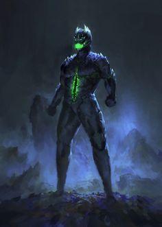 The Gate – A Dark Hero Franchise for a New Generation High Fantasy, Dark Fantasy Art, Dark Art, Armor Concept, Concept Art, Fantasy Character Design, Character Art, Cool Monsters, Superhero Design