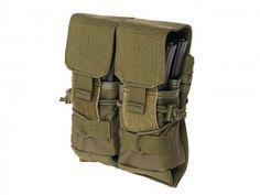 Podwójna ładownica na cztery magazynki do M4/M16/AK-74 – olive [8FIELDS]