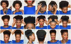 Step By Step Tutorial (Afro Puff) - KinkyKurlySistas.com http://kinkykurlysistas.com/hairspiration/item/668-step-by-step-tutorial-afro-puff