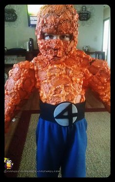 """Fantastic Four """"Thing"""" Costume for a Boy"""